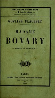 Cover of: Madame Bovary [1/2]