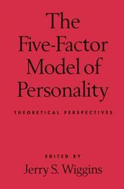 Cover of: The five-factor model of personality |