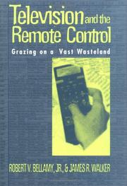 Cover of: Television and the remote control