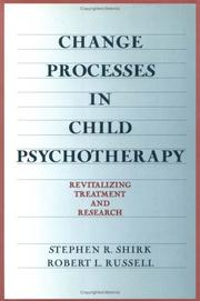 Cover of: Change processes in child psychotherapy