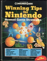 Winning Tips For Nintendo by Editors of Consumer Guide