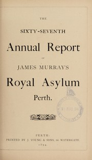 Cover of: The sixty-seventh annual report of James Murray