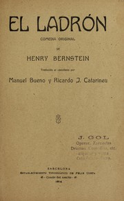 Cover of: El ladrón