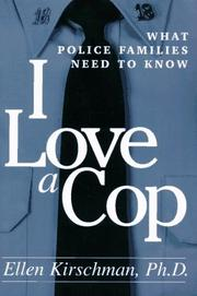 Cover of: I love a cop
