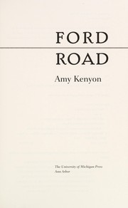 Cover of: Ford Road | Amy Maria Kenyon