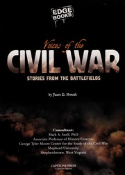 Cover of: Voices of the Civil War: stories from the battlefields