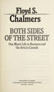 Cover of: Both sides of the street | Floyd S. Chalmers