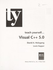Cover of: Teach yourself Visual C [plus plus] 5.0
