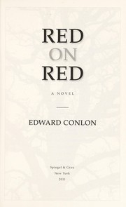 Cover of: Red on red | Edward Conlon