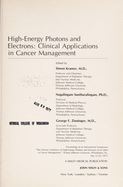 Cover of: High-energy photons and electrons