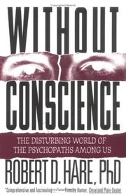 Cover of: Without conscience | Robert D. Hare