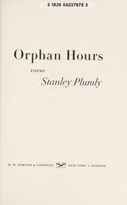 Cover of: Orphan Hours