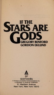 Cover of: If the stars are gods