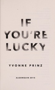 Cover of: If you're lucky