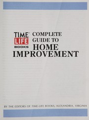 Cover of: Complete guide to home improvement