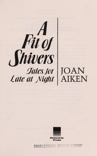 A fit of shivers by Joan Aiken
