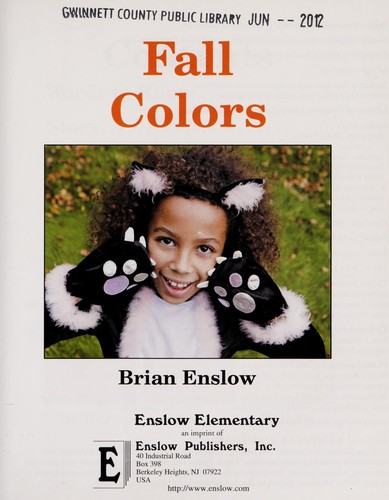 Fall colors by Brian Enslow