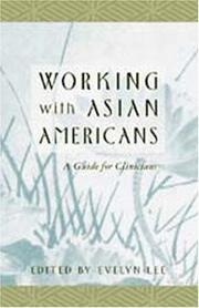 Cover of: Working with Asian Americans