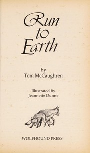 Cover of: Run to earth