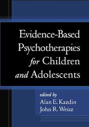 Evidence-Based Psychotherapies for Children and Adolescents by