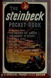 Cover of: The Steinbeck pocket book