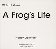 Cover of: A frog's life | Nancy Dickmann