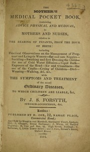 The mothers medical pocket book