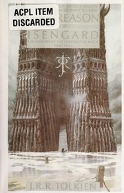 Cover of: The Treason of Isengard: The History of The Lord of the Rings, Part Two (The History of Middle-Earth, Vol. 7)