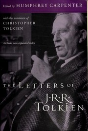 Cover of: The letters of J.R.R. Tolkien: a selection