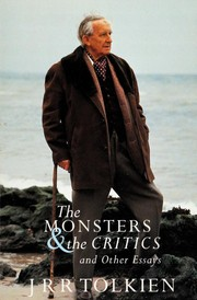 Cover of: The monsters and the critics, and other essays