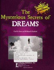Cover of: The mysterious secrets of dreams