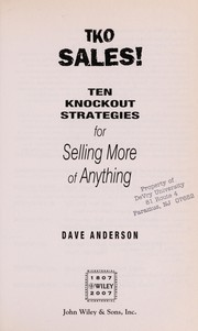 Cover of: TKO sales! | Dave Anderson
