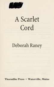 Cover of: A scarlet cord