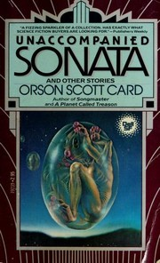 Cover of: Unaccompanied sonata