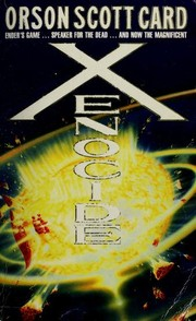 Cover of: XENOCIDE (ENDER, NO 3)