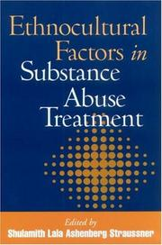 Cover of: Ethnocultural Factors in Substance Abuse Treatment