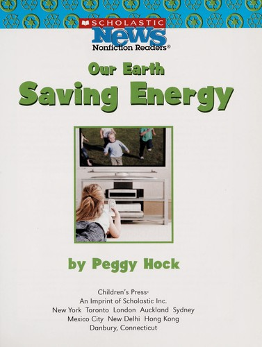 Saving energy by Peggy Hock