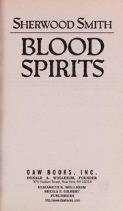 blood spirits smith sherwood