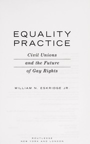 Cover of: Equality practice