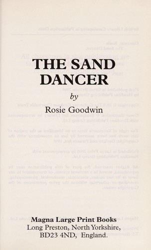 The sand dancer by Rosie Goodwin