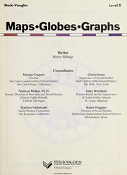 Cover of: Steck-Vaughn maps, globes, graphs