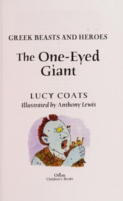 Cover of: The one-eyed giant