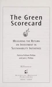 Cover of: The green scorecard