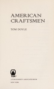 Cover of: American craftsmen | Tom Doyle
