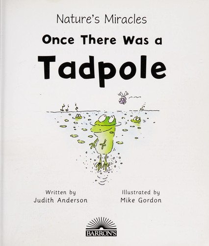 Once there was a tadpole by Judith Anderson