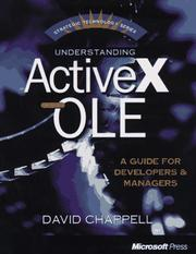 Cover of: Understanding ActiveX and OLE