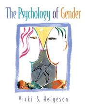 Cover of: The Psychology of Gender | Vicki S. Helgeson