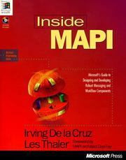 Cover of: Inside MAPI