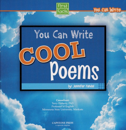 You can write cool poems by Jennifer Fandel