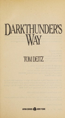 Darkthunder's Way by Tom Deitz